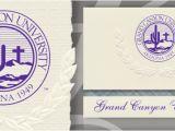 University Of Phoenix Graduation Invitations Grand Canyon University Graduation Announcements Grand
