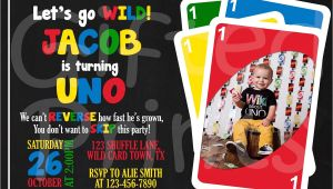 Uno Birthday Invitation Template Free Birthday Invitation Uno theme