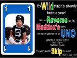 Uno Party Invitations Birthday Couture Uno themed Birthday Party Collection
