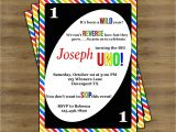 Uno Party Invitations Uno Birthday Invitations Uno Invitations First Birthday