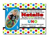 Uno Party Invitations Uno First Birthday Invitation Digital or Printed by