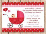 Valentine Baby Shower Invitations 25 Best Ideas About Valentine Baby Shower On Pinterest