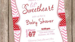 Valentine Baby Shower Invitations something New Valentine's Day Baby Shower Invitations