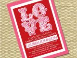 Valentine Bridal Shower Invitations Valentine 39 S Day Bridal Shower Invitation Valentine Wedding
