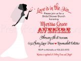 Valentine Bridal Shower Invitations Valentine Bride Bridal Shower Invitation You Print