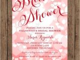Valentine Bridal Shower Invitations Valentines Bridal Shower Invitations 1 00 Each with
