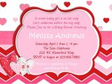 Valentine S Day Baby Shower Invitations Valentine's Day Baby Shower – A to Zebra Celebrations