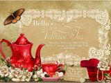 Valentine Tea Party Invitations Free 22 Tea Party Invitation Templates