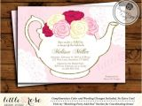 Valentine Tea Party Invitations Free Bridal Tea Party Invitation Valentine S by Littlerosestudio