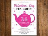 Valentine Tea Party Invitations Free Printable Valentine Tea Party Invitation Invite Teapot