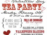 Valentine Tea Party Invitations Free Valentine S Day Tea Party