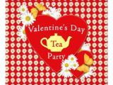 Valentine Tea Party Invitations Free Valentine Tea Party Daisies Invitation