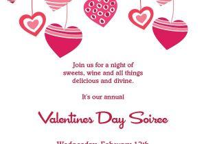 Valentines Party Invitation Ideas Hearts Valentines Invitation Printable Invitation Kits
