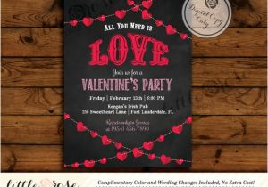 Valentines Party Invitation Ideas Valentine 39 S Party Invitation Valentine 39 S Day Card