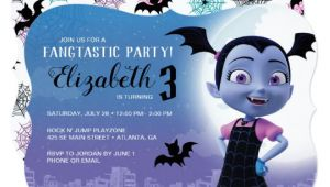 Vampirina Birthday Invitation Template Vampirina Birthday Invitation Zazzle Com