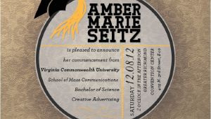 Vcu Graduation Invitations Graduation Announcements Ambermseitz