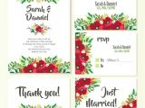 Vector Flowers for Wedding Invitations Wedding Invitations Floral Design Vector Free Download