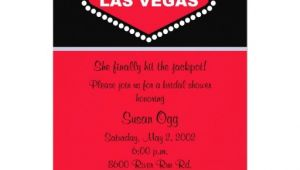 Vegas Bridal Shower Invitations 2 000 Las Vegas Invitations Las Vegas Announcements