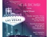 Vegas Bridal Shower Invitations Glitz & Glam Las Vegas Bridal Shower Invitations 13 Cm X