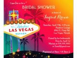Vegas Bridal Shower Invitations Glitzy Las Vegas Bridal Shower Invitations