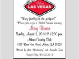 Vegas Bridal Shower Invitations Las Vegas Bridal Shower Invitation