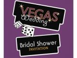 Vegas Bridal Shower Invitations Vegas Lights Purple Bridal Shower Invitation
