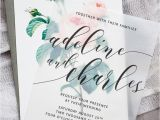 Vellum Party Invitations Best 25 Wedding Invitations Ideas On Pinterest Writing