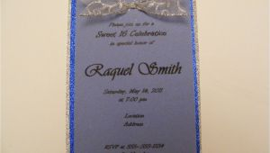 Vellum Party Invitations Sweet 16 Vellum Paper Invitations Request A Custom order