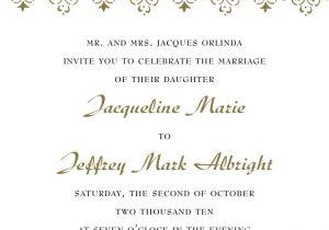Verbiage for Wedding Invitations formal Wedding Invitation Wording Fotolip Com Rich Image