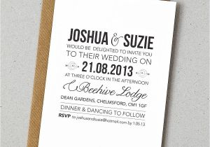 Verbiage for Wedding Invitations Rustic Style Wedding Invitation by Doodlelove