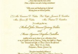 Verbiage for Wedding Invitations Sample Wording for Wedding Invitations Template Best