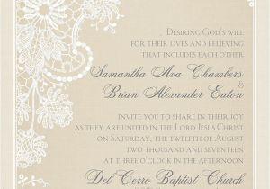 Verbiage for Wedding Invitations Spiritual Wedding Invitation Wording Invitations by Dawn