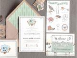 Vermont Wedding Invitations Vermont Destination Wedding Invitation Brides