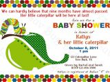 Very Hungry Caterpillar Baby Shower Invitations Baby Shower Invitations Hungry Caterpillar