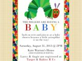 Very Hungry Caterpillar Baby Shower Invitations the Very Hungry Caterpillar Baby Shower Invitation Digital