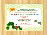 Very Hungry Caterpillar Baby Shower Invitations Very Hungry Caterpillar Baby Shower by thepapergiraffeshop