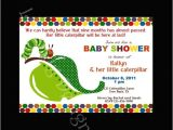 Very Hungry Caterpillar Baby Shower Invitations Very Hungry Caterpillar Baby Shower Invites I Love It