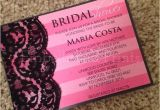 Victoria Secret Bridal Shower Invitations Victoria Secret themed Bridal Shower Invitation