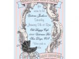 Victorian Baby Shower Invitations 337 Victorian Baby Shower Invitations Victorian Baby