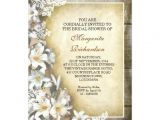 Victorian Bridal Shower Invitations Elegant Victorian Lilies Bridal Shower Invitations