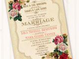 Victorian Bridal Shower Invitations Victorian Wedding Invitation Classic Victorian Bridal Shower