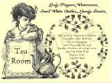 Victorian Tea Party Invitation Wording Victorian Tea Party Ideas