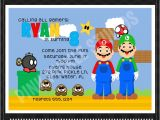 Video Game Birthday Party Invitation Template Free Video Game Party Invitations Template Best Template