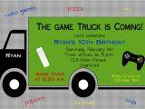 Video Game Birthday Party Invitation Template Free Video Game Party Invitations Video Game Party Invitations