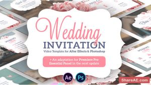 Videohive Wedding Invitation Template Videohive Wedding Invitation Free after Effects