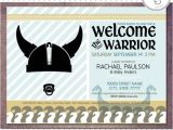 Viking Party Invitations Printable Warrior Viking Baby Shower Boy Invitations Digital