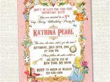 Vintage 1st Birthday Party Invitations Best 25 Vintage Birthday Invitations Ideas On Pinterest