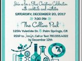 Vintage Cocktail Party Invitations Retro Mid Century Modern Cocktail Holiday Party Invitation