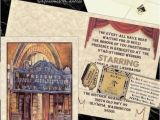 Vintage Hollywood Wedding Invitations Qty 50 Vintage theatre Movie Old Hollywood Glamour Wedding