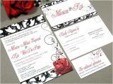 Vintage Hollywood Wedding Invitations Vintage Hollywood Wedding Invitation Set by Runkpock Designs